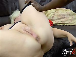 AgedLovE Lacey Starr multiracial gonzo ass fucking