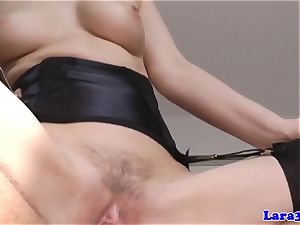 spunk-pump throating glam cougar romped and facialized