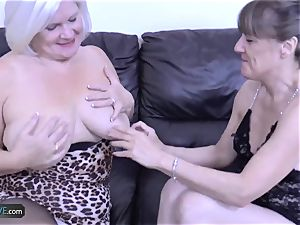 AgedLove mature Lacey star hard-core act