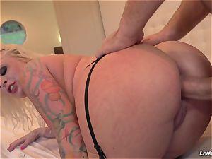 LiveGonzo Angel Vain Gets her butt porked