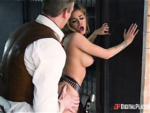 Western labia plowing with Jessa Rhodes and Misha Cross