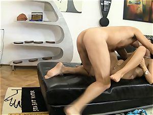 Rocco Siffredi hard-on drilling Bettina DiCapri