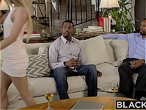 first-ever multiracial 3some for Sydney Cole
