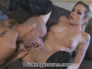 Rampant role play for Bailey Blue and a super hot stud