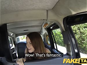 fake taxi red-haired gets filthy with future sugar father