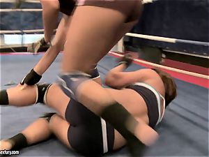 Rihanna Samuel cell with sweetheart nymph in the ring