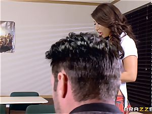buxom stunner Angelica Taylor screwed by her schoolteacher