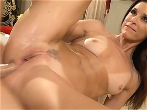 cougar India Summers gets analled in the douche
