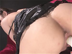 kinky Megumi Shino nubile fuck-holes penetrated With fuckfest toys