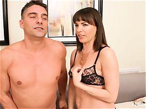 Alison Tyler hot three way with Dana