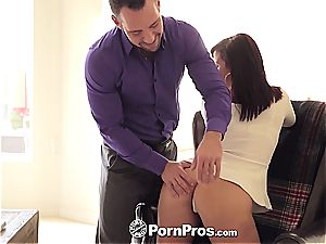 Keisha Grey and Johnny are firm at work