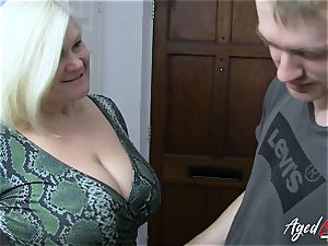 AgedLovE chesty Mature Lacey Starr hardcore lover
