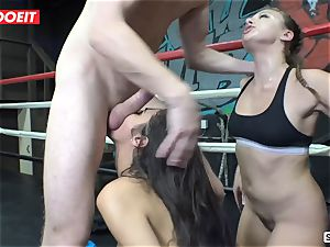 super-hot boxer honies pulverize and unload like naughty