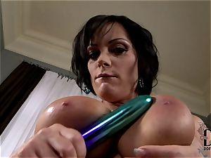 gigantic jugged Sheila Grant jacks
