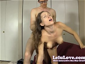 teacher nails his obedient shy student