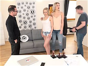 uncovered audition - Czech honey fucked in super hot casting