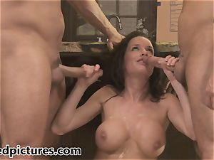 Veronica Avluv gets her vengeance with a hot three-way