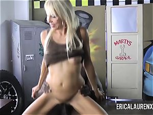 Erica inhales Off Shop owner to get Car immobile