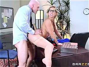 Cherie Deville sacks people the greatest way she can
